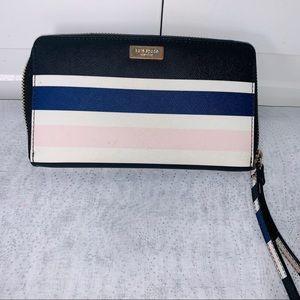 ♠️ Kate Spade NY♠️ Laurel Way Cruise Stripe Wallet